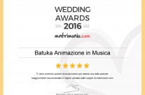 Vincitori degli Wedding Awards 2016