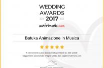 Vincitori degli Wedding Awards 2017