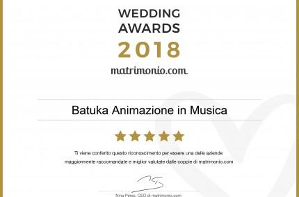Vincitori degli Wedding Awards 2018